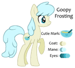 MLP:Goopy Frosting Profile by kiananuva12