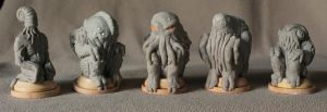 Cthulhu Family by BrittaM