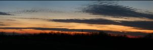 Panoramic Sunset by Famous