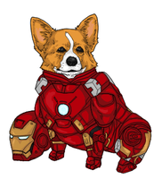 IRON CORGI MK VII by b-dangerous
