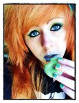 Apple Green Donut by LiaLithiumTM