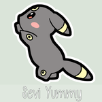 Chibi Umbreon by SeviYummy