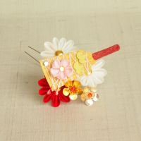 January mini maiko kanzashi 2015 by elblack