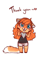 Thank You! by NoyiiArts