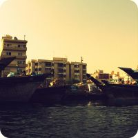 Dubai Creek by lostknightkg