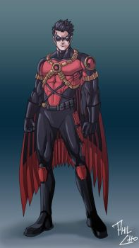 Red Robin - New 52 by phil-cho