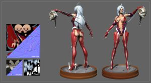 witchblade Anime 3d 01 by ziopredy
