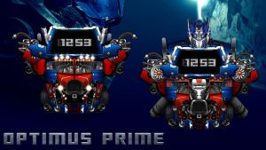 Optimus Prime Widget for xwidget  (fully animated) by jimking