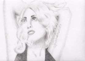 lady gaga by colagirlfy