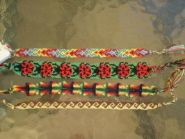Friendship Bracelets1 by BraceletsWhiz