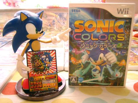 Sonic Colors with a TC by BsaturnineD