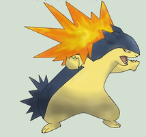Typhlosion by PkmnNews