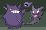 The Gastly Family by Zerochan923600
