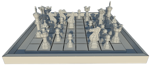 Chess - Wire Render by iemersonrosa