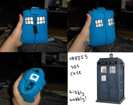 Wibbly 3DS Case Commission by Aemi