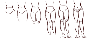 Leg tutorial by xMEDIUMx