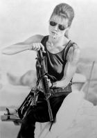 Sarah Connor (no fate) WIP 6 by Statham75