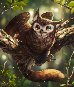 CatOwl by manusia-no-31