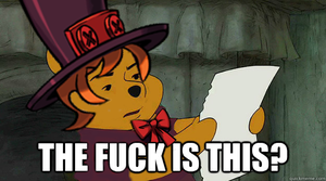 Peacock the Pooh meme by Greasy-LucarioYun