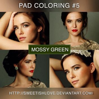 PAD Coloring #5 - Mossy Green by Sweetishlove