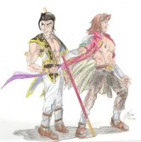 Maxi and Kilik by Trooper1212