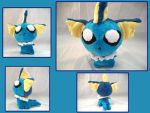Vaporeon Plush by VanguardWingal