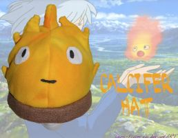 Calcifer Fleece Hat by Demi-Plum