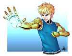 Genos: One-Punch man by Kaboio