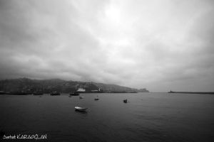 Zonguldak Harbor by ganara