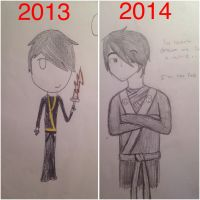 Ninjago Cole- 2013 and 2014 by PersonOfEnvy
