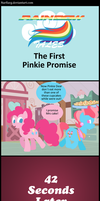 Rainbow Tales: The First Pinkie Promise by Narflarg