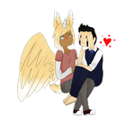 [AT] Demetri and Jaden by Muffin-Draw