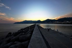 Salerno Sunset by st1hart