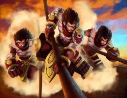 Wukong LoL by Raul-Leyva