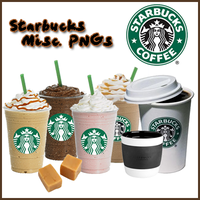 Starbucks Misc PNGs by supersarah089