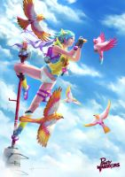 Up up and free by poibuts