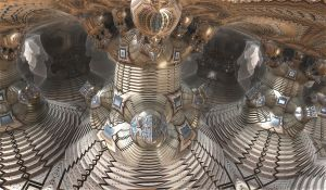 metallic bulb hall by Andrea1981G