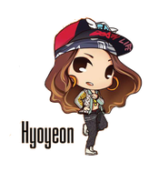 SNSD Hyoyeon I Got A Boy Chibi ~PNG~ by JaslynKpopPngs