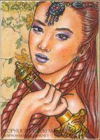 Allegiance - ACEO by MJWilliam