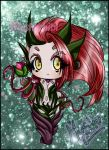 Zyra chibi by DarkMysha