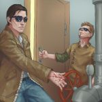 when Chris Walker isnt home by DaedraDagon