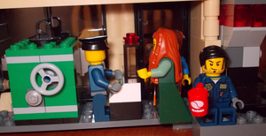 LEGO: Daily needs and dos at the local bank by TMNTFAN85