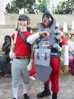 Otakon 2011: Demo and Scout by LusheetaLaputa