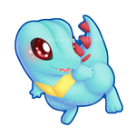 Totodile v2 by Clinkorz