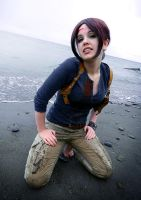 Uncharted cosplay ... Washed Ashore by LadyofRohan87