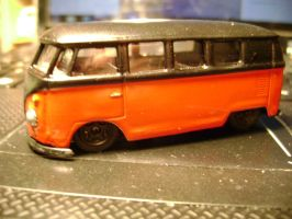 Custom Welly VW Bus by prorider
