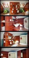 Bathroom by diegoreales