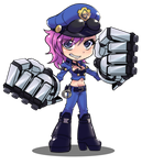 SD Officer Vi by sinrisk
