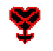 pixel heartless symbol by kingsorahearts