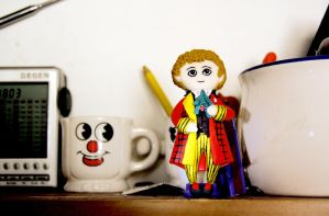 The Sixth Doctor by Monicmon
